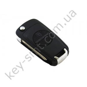 Корпус выкидного ключа Nissan Almera, Primera и другие, 2 кнопки, лезвие NSN14, под переделку /D
