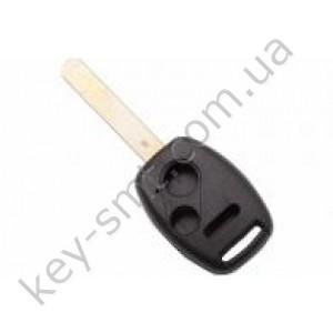 Корпус ключа Honda Pilot, Honda Civic и другие, 2+1 кнопки, лезвие HON66, с местом под чип /D