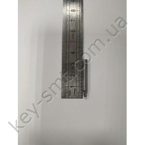 Фреза вертикальная 2,5мм  CARBIDE 4Dx40Lx3F  V003M утонченная/ Raise/2019 NEW/проф. серия