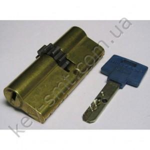 Цилиндр MUL-T-LOCK INTERACTIVE (35х35)к/к латунь шестерня