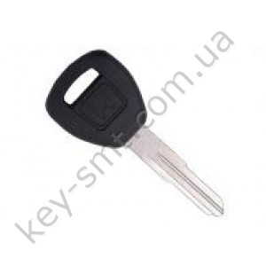 Корпус ключа с местом под чип Honda Accord, Civic и другие, лезвие HON58R, логотип /D