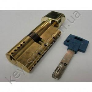 Цилиндр MUL-T-LOCK INTERACTIVE (35х35Т)к/п латунь
