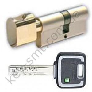Цилиндр MUL-T-LOCK MT5+ (60х60Т)к/п латунь