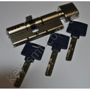 Цилиндр MUL-T-LOCK INTERACTIVE (35х35Т)к/п сатин шестерня