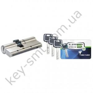 Цилиндр MUL-T-LOCK MT5+ (50х50)к/к сатин шестерня