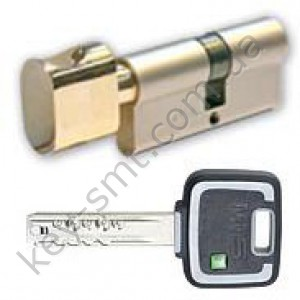 Цилиндр MUL-T-LOCK MT5+ (50х50T)к/п латунь