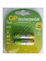 Аккумулятор R-3 GP 750 (мизинчики) (упаковка = 2шт)
