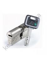 Цилиндр MUL-T-LOCK MT5+ (27х35)к/к никель сатин