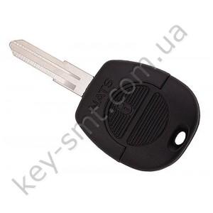 Корпус ключа Nissan Micra, Vanette и другие, 2 кнопки, лезвие NSN11 /D