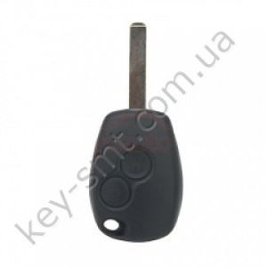 Корпус ключа Nissan Primastar, Nissan Kubistar и другие, 2 кнопки, лезвие VA2 /D