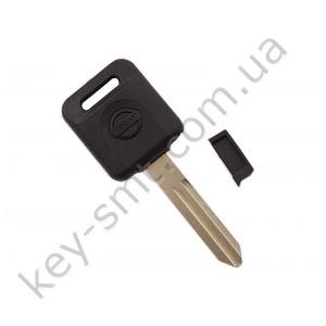 Корпус ключа с местом под чип Nissan Almera, Patrol, Primera и другие, лезвие NSN14, тип 3 /D