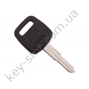 Корпус ключа с местом под чип Nissan Micra, Vanette и другие, лезвие NSN11, тип 2 /D