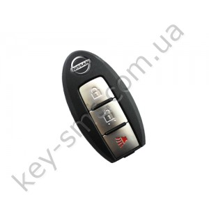 Корпус смарт ключа Nissan Murano, Pathfinder, Rogue и другие, 2+1 кнопки /D