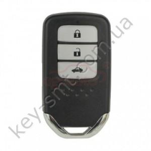 Смарт ключ Honda Accord, 433 Mhz, CWTWB1G0090, NCF29A3/ Hitag Aes/ 4A-чип, 3 кнопки /D