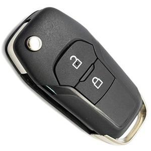Корпус выкидного ключа Ford Ranger, Mondeo, 2 кнопки, лезвие HU101 /D