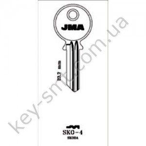 SKO4 /JMA/ JAWA руль и багажник