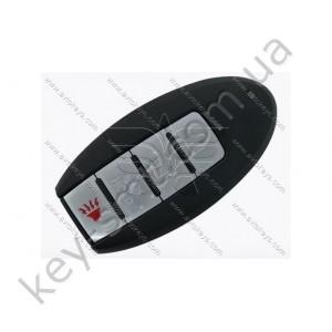Корпус смарт ключа Nissan Sentra, Versa и другие, 3+1 кнопки, тип 2, без лого /D