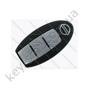 Корпус смарт ключа Nissan Teana, X-Trail, Qashqai, Pulsar, 3 кнопки, тип 1 /D