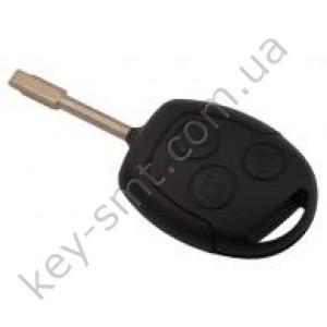 Корпус ключа Ford Focus и другие, 3 кнопки, лезвие FO21, тип 1 /D