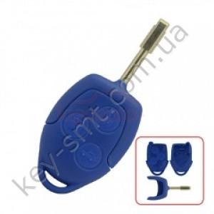 Корпус ключа Ford Focus и другие, 3 кнопки, лезвие FO21, тип 3 /D