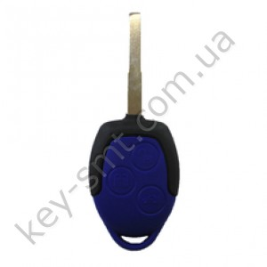 Корпус ключа Ford Mondeo, Focus и другие, 3 кнопки, лезвие HU101, тип 1 /D