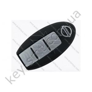 Корпус смарт ключа Nissan Tiida, Qashqai, Leaf и другие, 2 кнопки /D