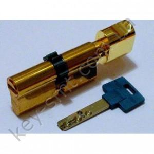 Цилиндр MUL-T-LOCK INTERACTIVE (33х33Т)к/п латунь шестерня
